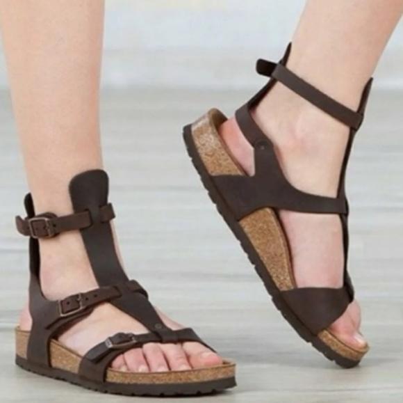 c39f0dd528c Birkenstock Shoes - Rare Birkenstock Chania Gladiator Sandals 39